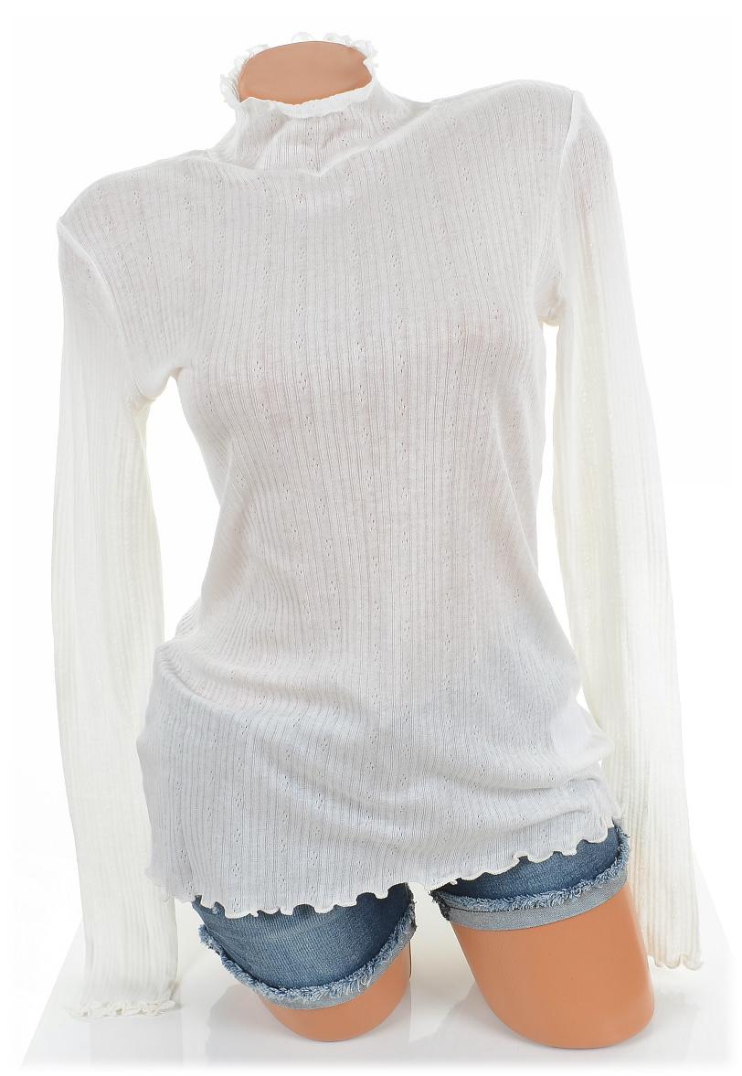 M WHITE 50103790 Bluse CULTURE 38