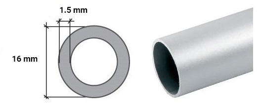 Stainless steel round tube pipe various sizes